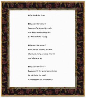 Religious Happy Labor Day 2015 Poems