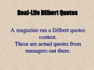 funny business quotes dilbert