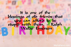 old friends birthday quotes