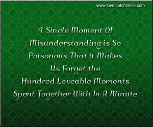 Single Moment of MisUnderstanding-1