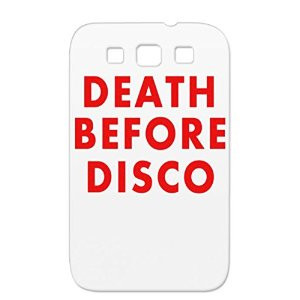 Retro Funny Sayings 70s Music 80s Satire Death Before Disco Funny ...