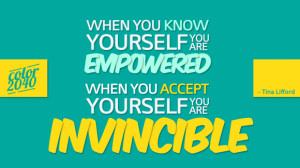 You are invincible
