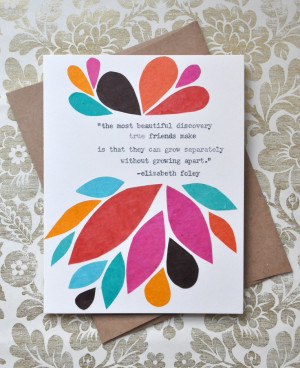 ... Friendship Cards, Handmade Greeting, Greeting Cards, Friendship Quotes