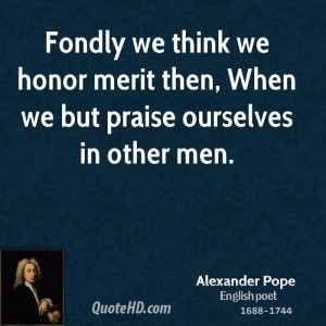 Alexander Pope Men Quotes