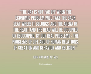 ... ideas, known as Keynesian economics, had a major impact ... clinic
