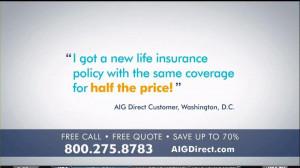 AIG Direct TV Spot, 'Quotes' - Screenshot 5