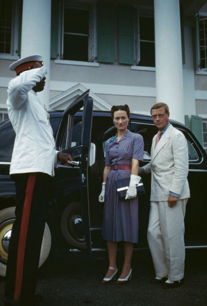 duke of windsor, abdicated, exiled, wallis simpson, marriage, american ...