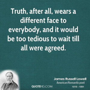 Face the Truth Quotes