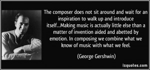 More George Gershwin Quotes