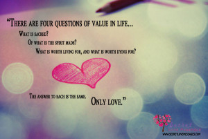 Value Of Life quote #2
