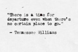 posted 2 years ago # typewritten # tennessee williams # quote 37 notes