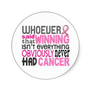 Humorous Sayings Overcoming Cancer