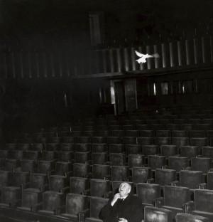 PAUL CLAUDEL A LA REPETITION DE SA PIECE 1953