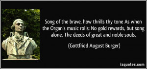 More Gottfried August Burger Quotes