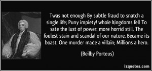 More Beilby Porteus Quotes