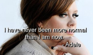 Singer adele quotes and sayings about yourself pictures