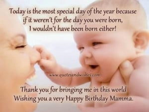 Happy birthday son quotes from mom