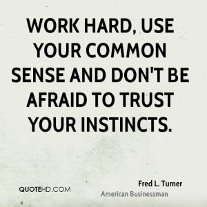 Trust Quotes About Work