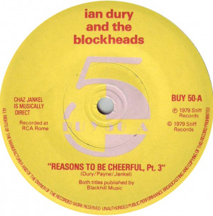 Ian Dury And The Blockheads Reasons To Be Cheerful Part 3 Dury Payne