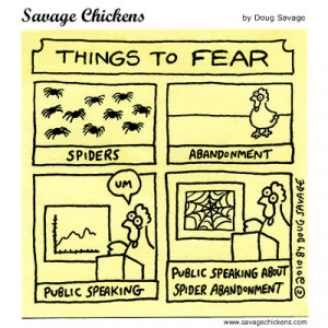 Savage Chickens - Things to Fear
