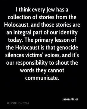 The holocaust Quotes
