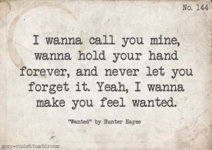 quotes lyrics hunter hayes wanted love love quotes words text