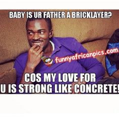 ... more funny African quotes about love! #nigerianweddings #africanlove