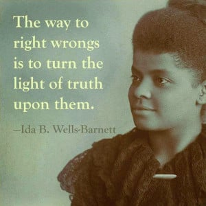 Every Day Is Special: July 16 – Happy Birthday, Ida B. Wells