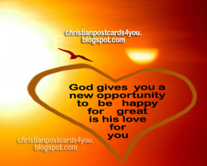 Christian Good Morning Quotes Christian card god gives you a
