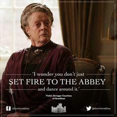 Violet Crawley More