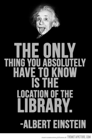 cool-Einstein-quote-library-location