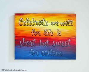 Dave Matthews Band Wall Art Lyrics Painted Canvas Quotes - Canvas ...