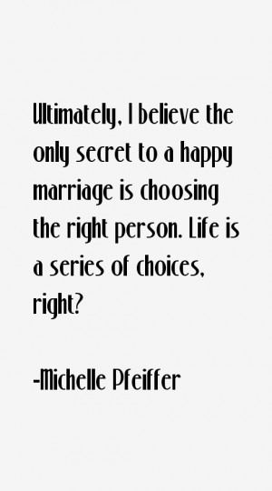 Michelle Pfeiffer Quotes amp Sayings