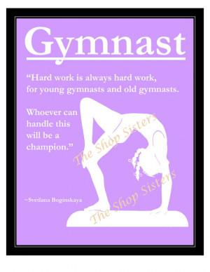 Gymnastics Quotes And Poems Gymnastics girl olympics
