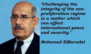 Mohamed elbaradei famous quotes 1