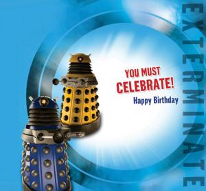 Birthday Card: Exterminate]