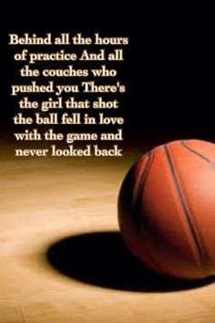 basketball#quotes: Sports Quotes, Basketball Quotes, That Girls ...