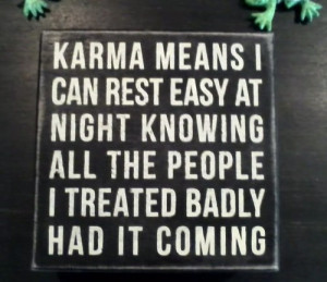 The Meaning of Karma