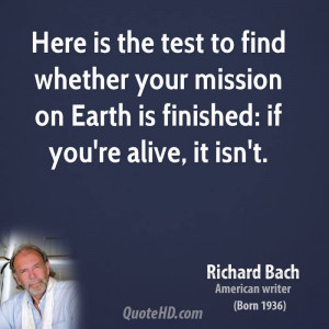 Richard Bach Life Quotes