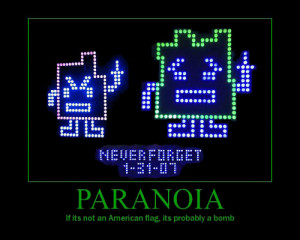 Posts Tagged 'Paranoia'