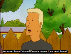 Boomhauer Quotes Is nicknamed boomhauer and