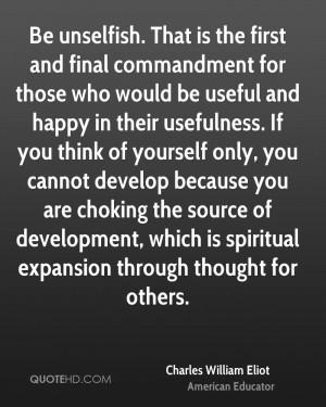 Charles William Eliot Quotes