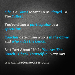 Game Day Quotes Inspirational