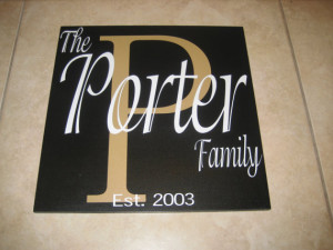Family Name Established Date - Quote - Vinyl Wall Decal