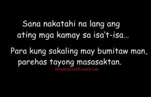 Love Quotes And Sayings Tagalog