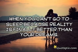 Cant Sleep Quotes When you can't go to sleep