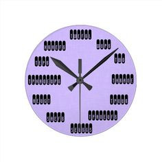 Add Your Own Background Court Reporter Clock