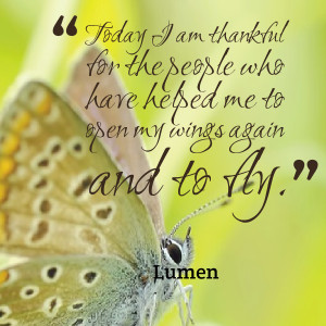 Quotes Picture: today i am thankful for the people who have helped me ...