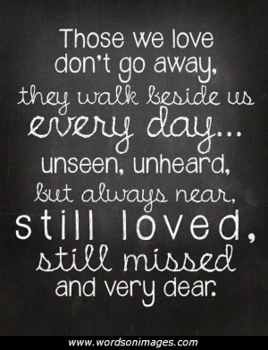In Loving Memory Short Quotes