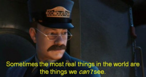 cartoon, movie, mustaches, polar express, quote, text